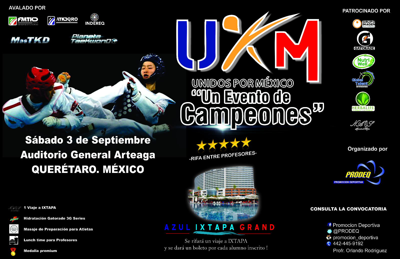 Poster UXM
